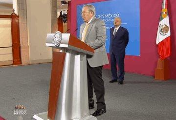 Vamos bien: Alcocer sobre COVID-19 en México