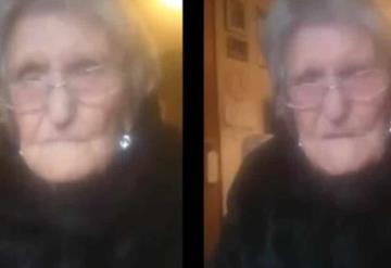Vídeo: Mujer de 104 años llora para ver a su familia por confinamiento
