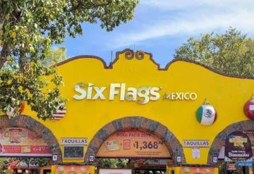 Six Flags reabre sus puertas con Susana distancia