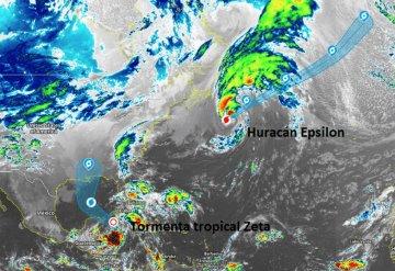Tormenta Tropical Zeta podría convertirse en huracán