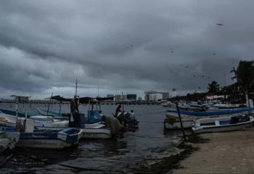 VIDEO: De esta forma golpea el huracán Zeta a Quintana Roo